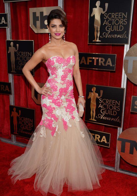 Priyanka Chopra – SAG Awards 2016 at Shrine Auditorium in Los Angeles