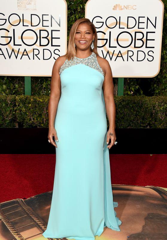 Queen Latifah – 2016 Golden Globe Awards in Beverly Hills