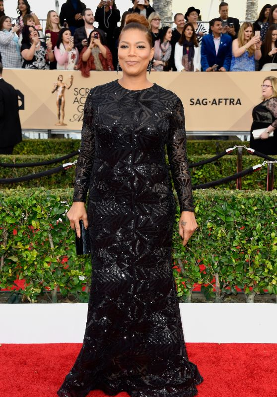 Queen Latifah – SAG Awards 2016 at Shrine Auditorium in Los Angeles
