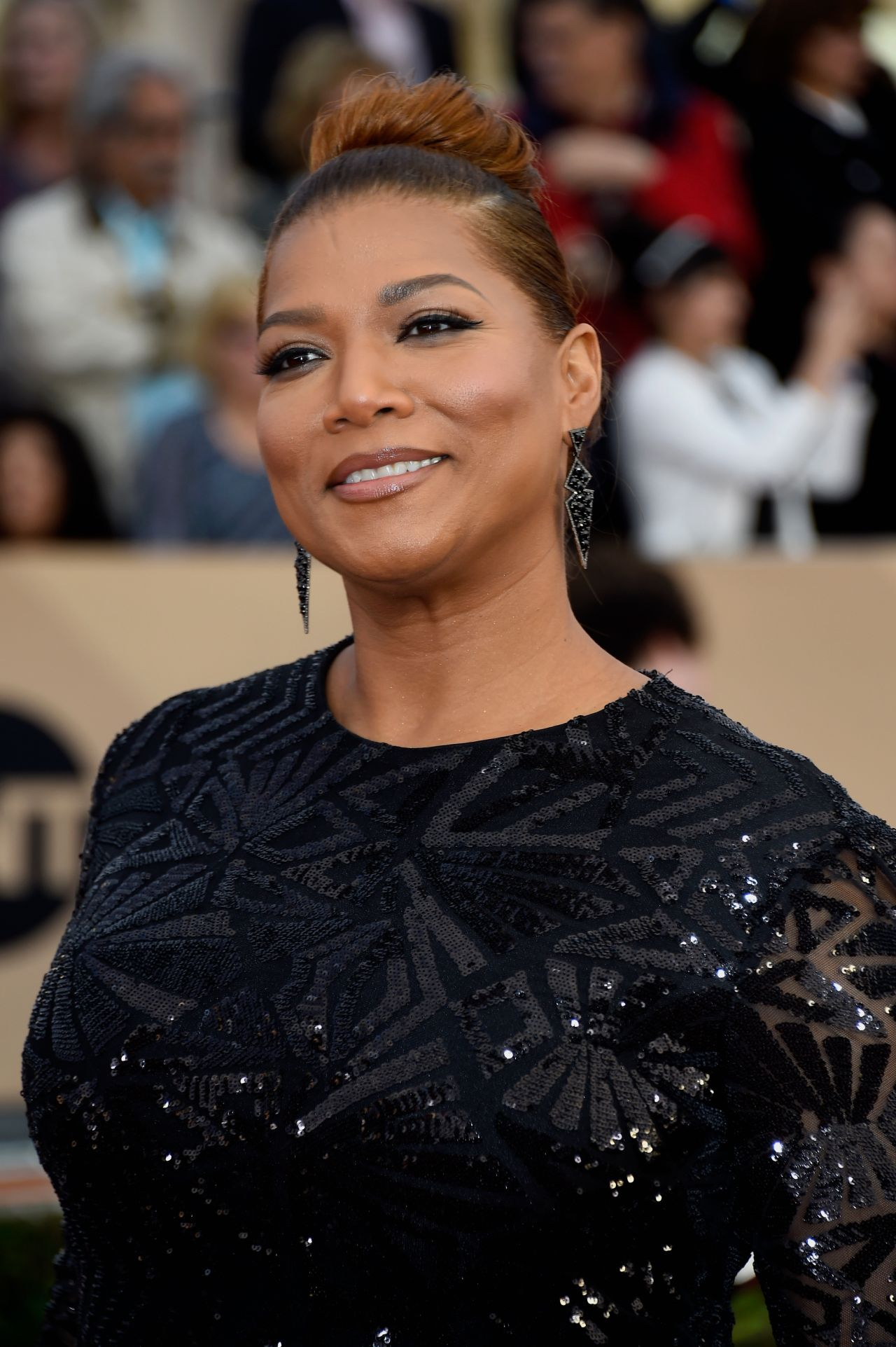 queen latifah Fiercely protective of her private life, the media (better yet, the paparazzi) nevertheless managed to scale the walls of queen latifah's royal throne to once again and snatch photos of her in a delicate and romantic moment with suspected girlfriend eboni nichols — way over in italy.