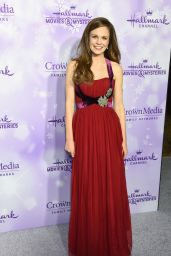 Rachel Boston - Hallmark Channel Movies And Mysteries Winter 2016 TCA Press Tour in Pasadena