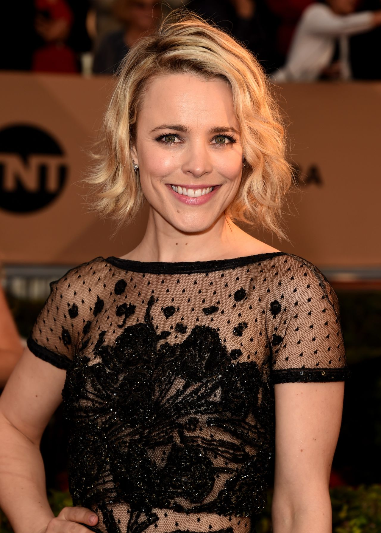 Rachel Mcadams Sag Awards 2016 At Shrine Auditorium In