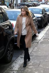 Rachel Stevens Casual Style - Out in London, January 2016