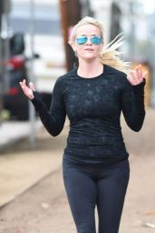 Reese Witherspoon - Jog With a Friend in Brentwood, January 2016