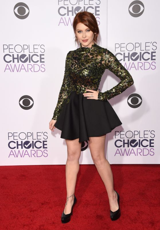 Renee Olstead – 2016 People's Choice Awards in Microsoft Theater in Los Angeles