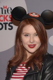 Renee Olstead - Minnie Mouse Rocks The Dots Art And Fashion Exhibit in Los Angeles, January 22, 2016