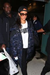 Rihanna at LAX in Los Angeles 1/23/2016