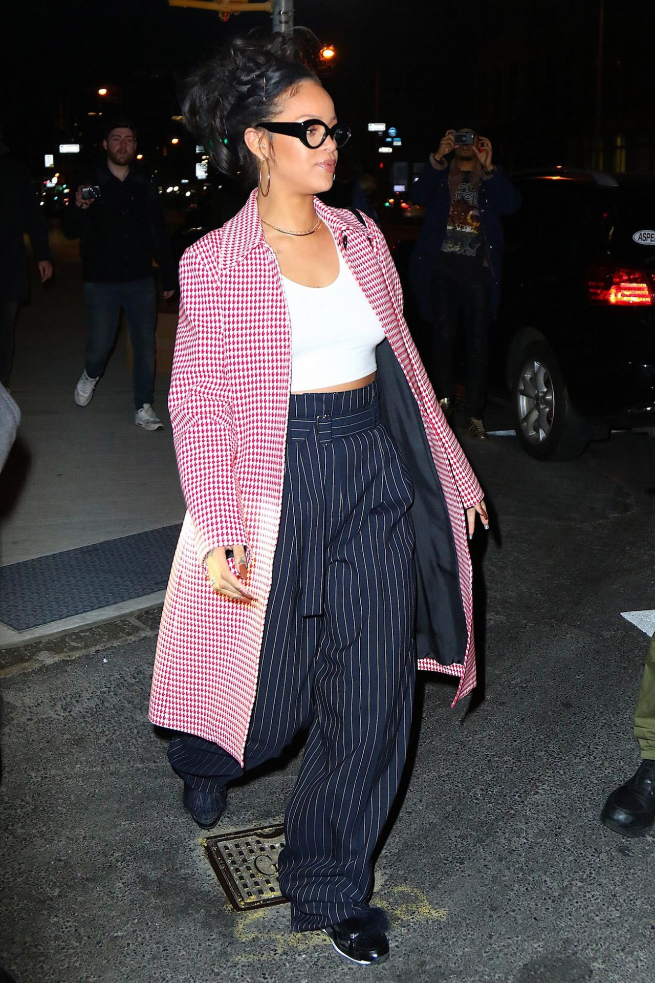 Rihanna Night Out Style New York City 1 2 2016