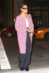 Rihanna Night Out Style - New York City 1/2/2016