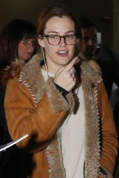 Riley Keough - Arriving on a Flight to Attend the 2016 Sundance Film Festival in Park City, Utah
