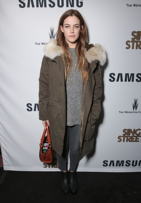 Riley Keough - SING STREET Party in Park City, Utah, January 2016