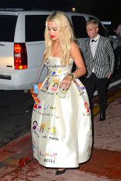 Rita Ora Night Out Style - Twist Nightclub in Miami Beach 12/31/2015