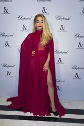 Rita Ora - Ralph & Russo and Chopard Dinner- Paris Fashion Week at the Peninsula Hotel in Paris