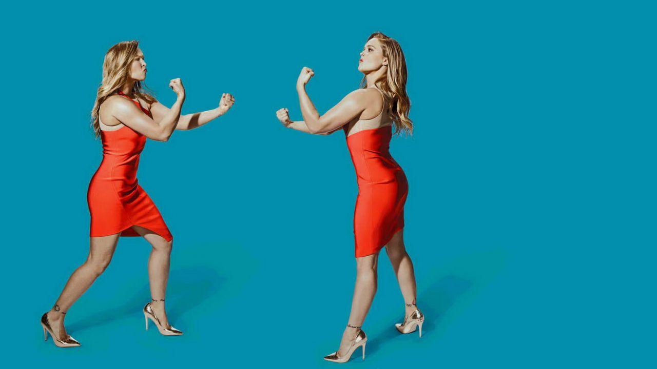 Ronda Rousey Snl Promo Shoot January 2016