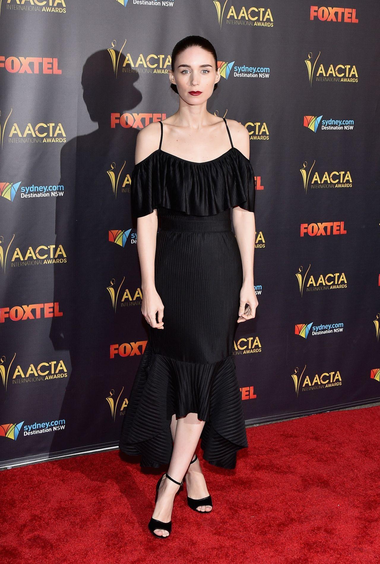 Rooney Mara 2016 Aacta International Awards Ceremony In Los Angeles