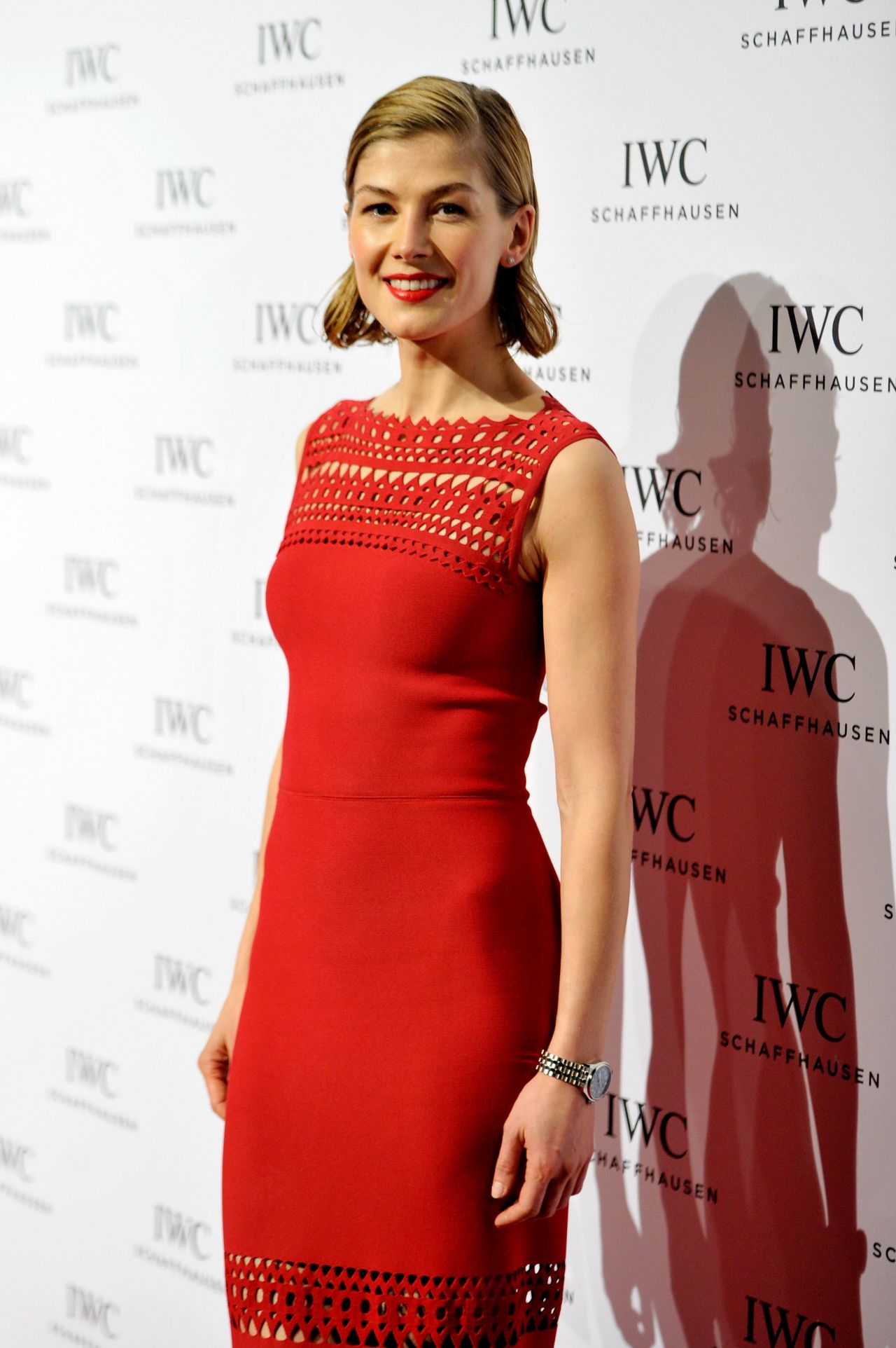 Rosamund Pike Iwc Come Fly With Us Gala Dinner