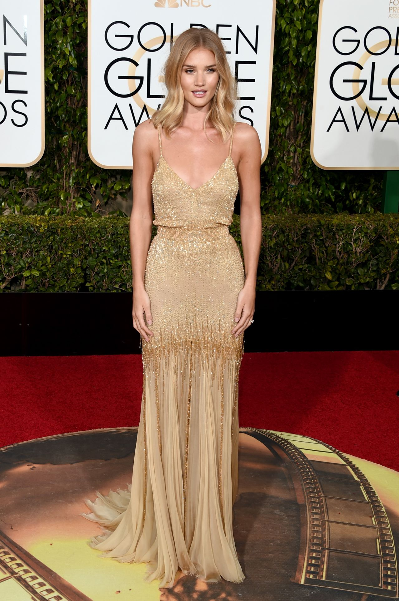 Rosie huntington whiteley 2016 golden globe awards in beverly hills - Golden globes red carpet ...