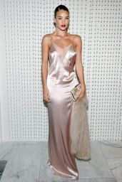 Rosie Huntington-Whiteley in a Stunning Galvan Silk Slip Dress -  New Galvan for Opening Ceremony Collection, January 2016