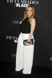 Rosie Rivera on Red Carpet – 'Fifty Shades of Black' Premiere in Los Angeles