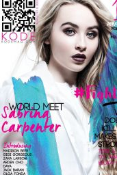 Sabrina Carpenter - KODE Magazine Issue 9 December 2015 Issue