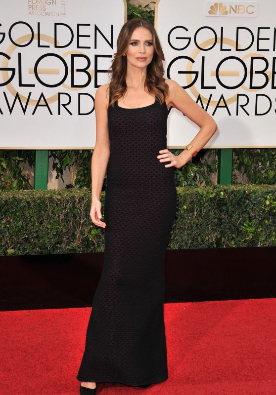Saffron Burrow – 2016 Golden Globe Awards in Beverly Hills