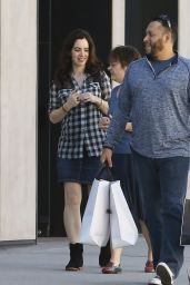 Sally Humphreys  - Shopping in Beverly Hills 1/25/2016