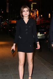 Sami Gayle Night Out Style - Marc Jacobs Velvet Noir Major Volume Mascara Launch Event in NYC 1/18/2016