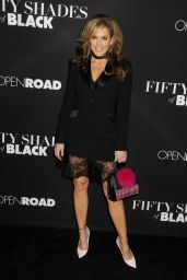 Sandra Taylor Red Carpet Pics – 'Fifty Shades of Black' Premiere in Los Angeles