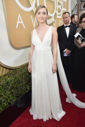 Saoirse Ronan – 2016 Golden Globe Awards in Beverly Hills