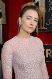 Saoirse Ronan – SAG Awards 2016 at Shrine Auditorium in Los Angeles