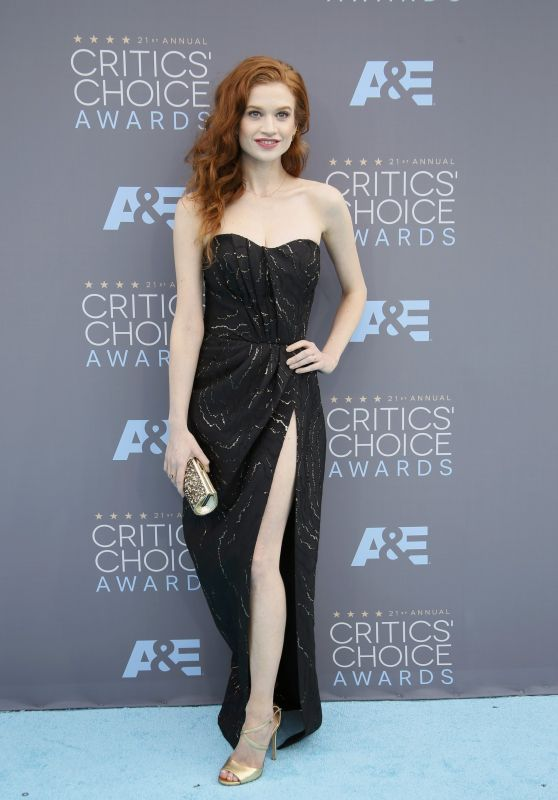 Sarah Hay – 2016 Critics' Choice Awards in Santa Monica