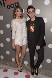 Sarah Hyland - Minnie Mouse Rocks The Dots Art And Fashion Exhibit in Los Angeles, January 22, 2016