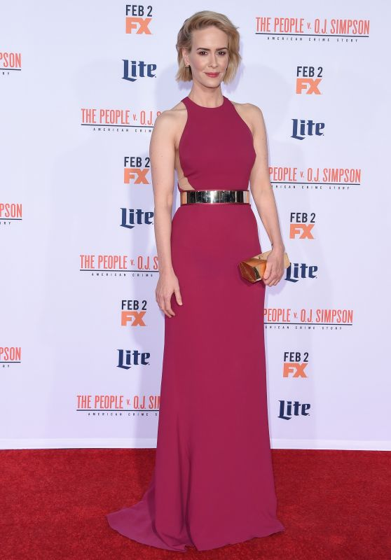 Sarah Paulson – 'The People v. O.J. Simpson: American Crime Story' Premiere in Westwood