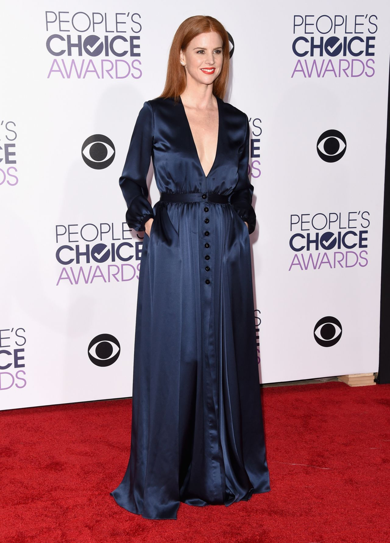 Sarah Rafferty 2016 People S Choice Awards In Microsoft
