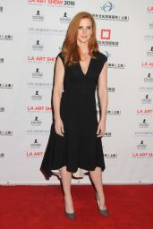 Sarah Rafferty - LA Art Show and Los Angeles Fine Art Show
