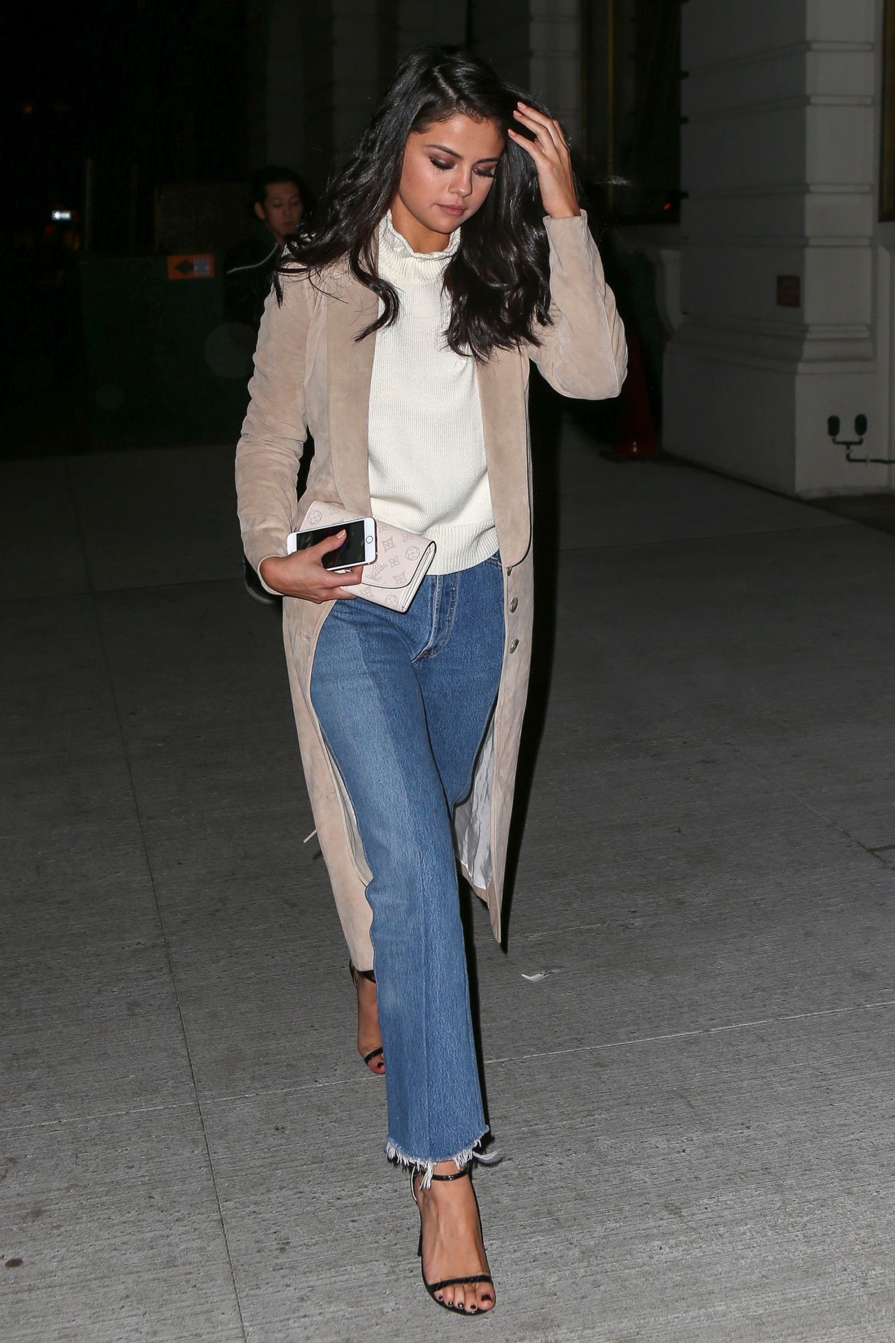 selena gomez night out style at nobu restaurant in new