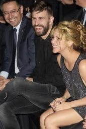 Shakira - Festa De Esport Catala Awards in Barcelona, Spain, January 2016