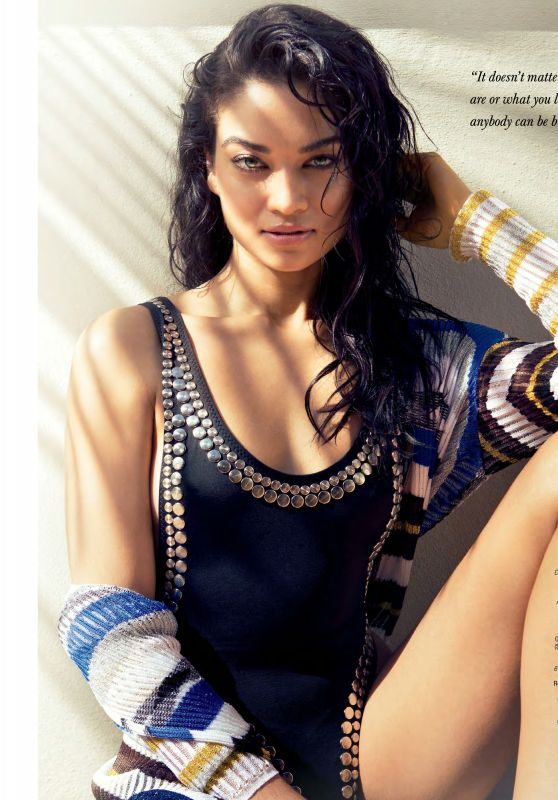Shanina Shaik - Ocean Drive Magazine February 2016 Issue