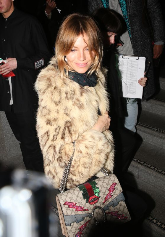 Sienna Miller at the Launch of 100 Wardour Street in London 1/28/2016