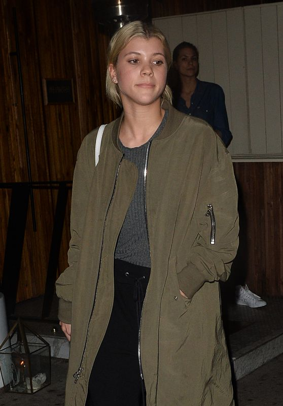 Sofia Richie - Leaves Nice Guy in Los Angeles, CA 1/19/2016