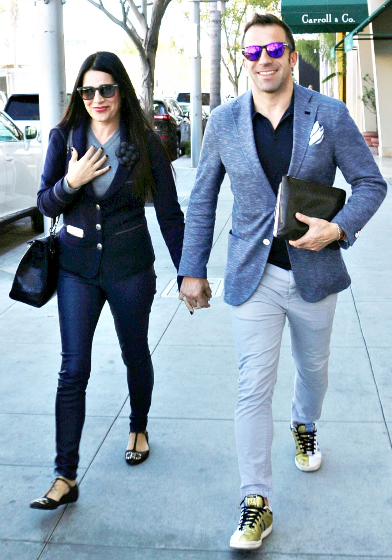 Sonia Amoruso With Husband Alessandro Del Piero In Los Angeles January