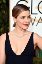 Sophia Bush – 2016 Golden Globe Awards in Beverly Hills
