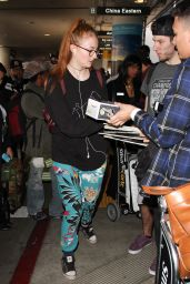 Sophie Turner at LAX Airport in LA, January 2016