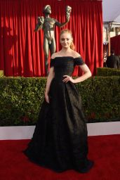 Sophie Turner – SAG Awards 2016 at Shrine Auditorium in Los Angeles