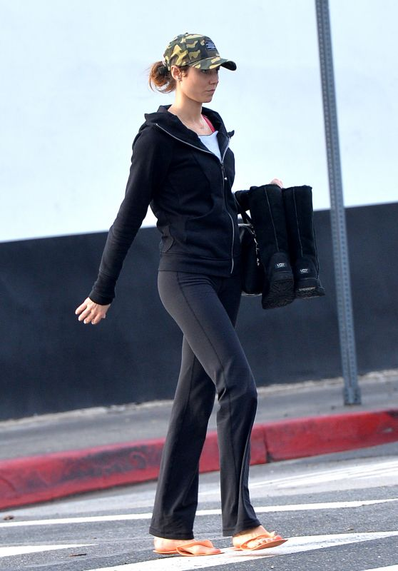 Stacey Keibler - Out in Los Angeles, January 2016