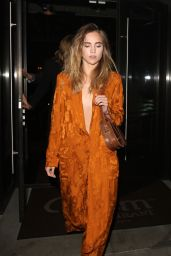 Suki Waterhouse Style - Leaving Palms Restaurant in Beverly Hills, 01/07/2016
