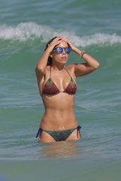 Sylvie Meis Hot in Bikini - Beach in Miami, December 2015