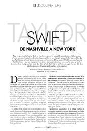 Taylor Swift - Elle Magazine Quebec February 2016 Issue