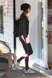 Taylor Swift in Spandex - Going to the Gym in West Hollywood 12/31/2015