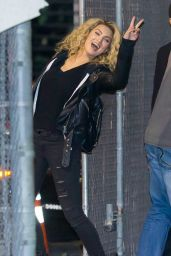 Tori Kelly Arriving to Appear on Jimmy Kimmel Live! in Hollywood 1/4/2016